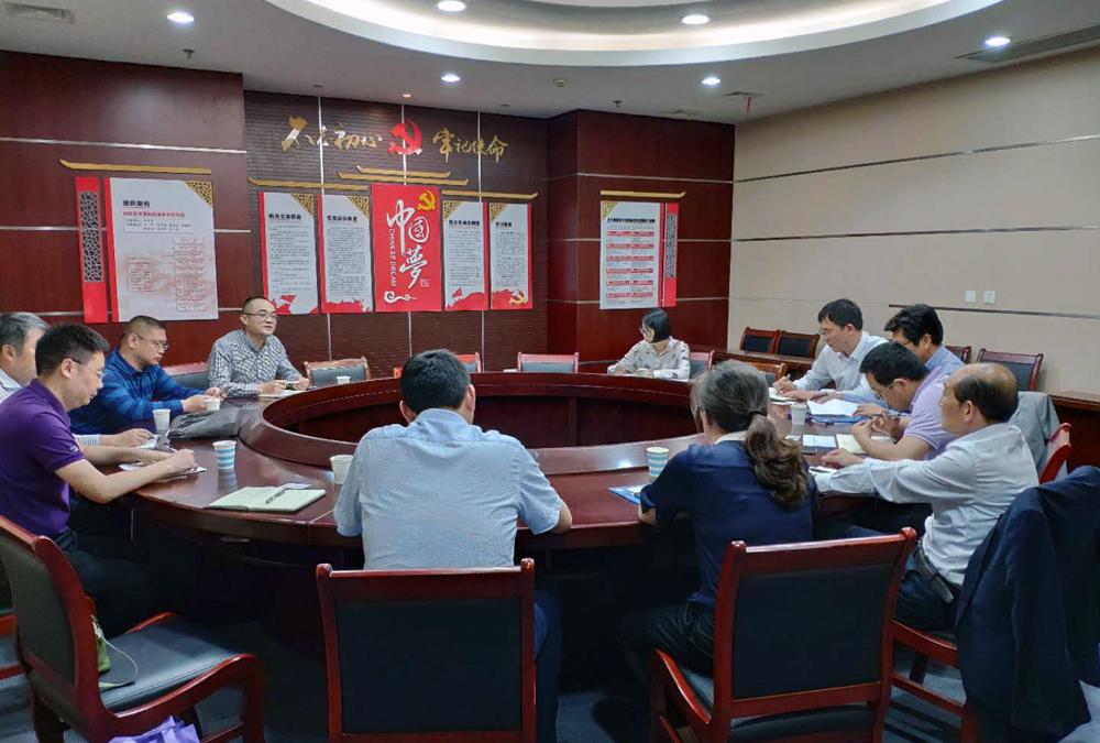 我校与如东县发改委,如东县教体局洽谈合作