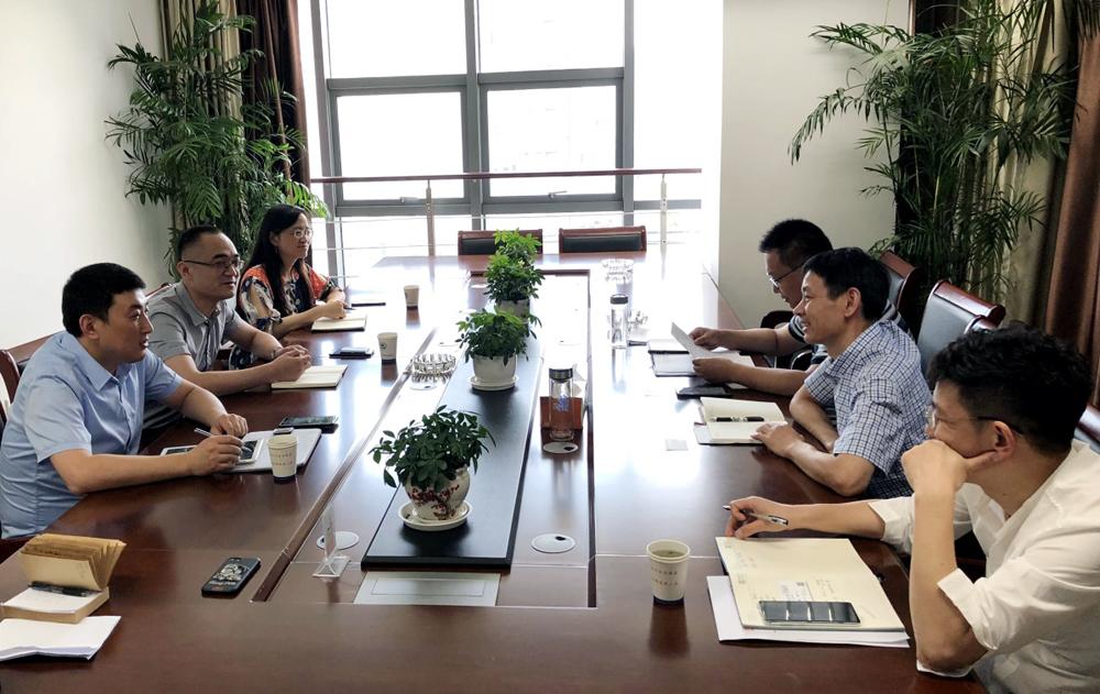 我校分赴如东县卫健委,如东县高新区洽谈合作